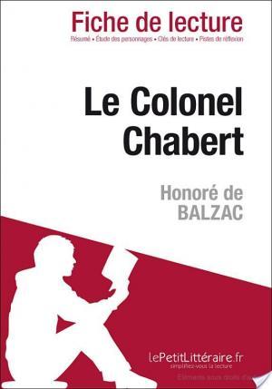Affiche Le Colonel Chabert d'Honoré de Balzac (Fiche de lecture)