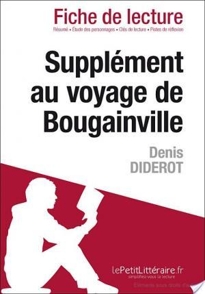 Affiche Supplément au voyage de Bougainville de Denis Diderot (Fiche de lecture)