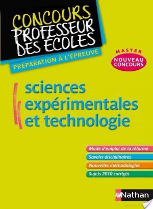 Affiche Sciences expérimentales et technologie