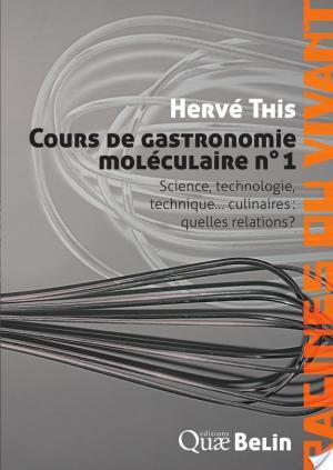 Affiche Cours de gastronomie moléculaire: Science, technologie, technique