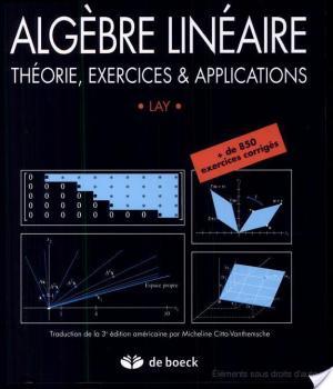 Affiche Algèbre linéaire