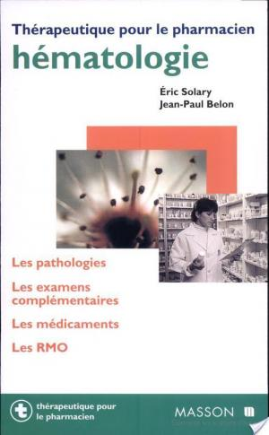 Affiche Hématologie
