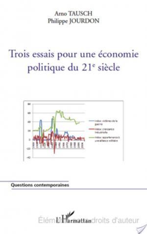 Affiche Trois essais pour une économie politique du 21e siècle
