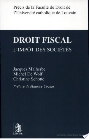 Affiche Droit fiscal