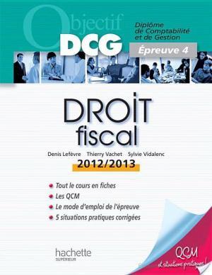 Affiche Objectif DCG Droit fiscal 2012/2013