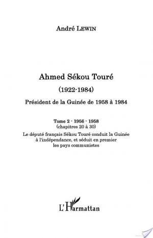Affiche Ahmed Sékou Touré (1922-1984)
