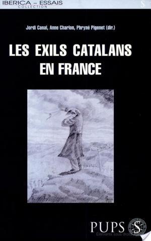 Affiche Les exils catalans en France
