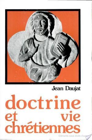 Affiche Doctrine et vie chrétiennes