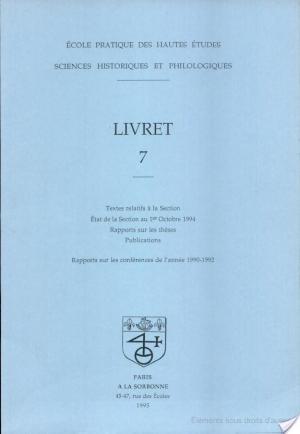 Affiche Libret 7