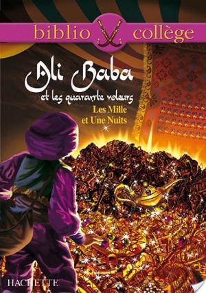 Affiche Bibliocollège - Ali Baba et les quarante voleurs - Les Mille et Une Nuits