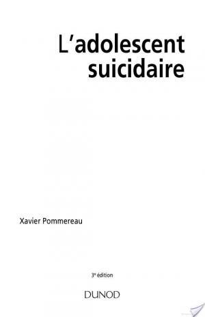 Affiche L'adolescent suicidaire - 3ème édition