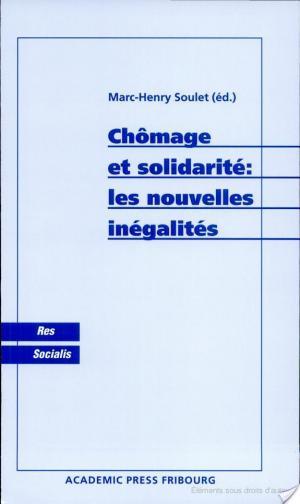 Affiche Chômage et solidarité