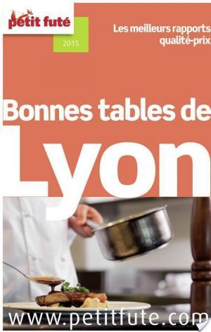Affiche Bonnes tables de Lyon 2014 Petit Futé