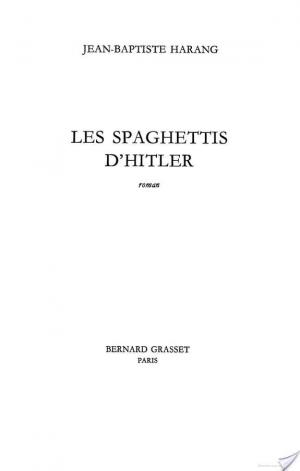 Affiche Les spaghettis d'Hitler