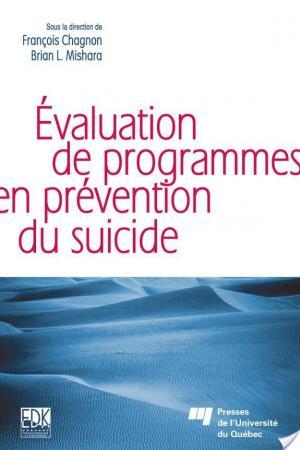 Affiche L'évaluation de Programmes en Prévention du Suicide
