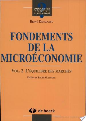 Affiche Fondements de la microéconomie