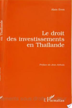 Affiche Le droit des investissements en Thaïlande