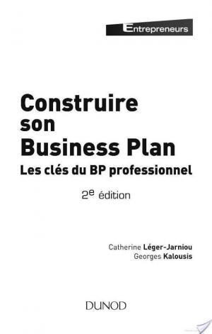 Affiche Construire son business plan - 2e édition