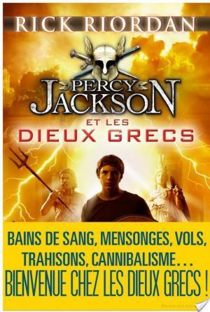 Affiche Percy Jackson et les dieux grecs