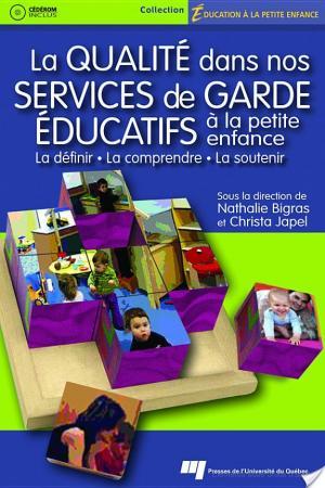 Affiche La Qualite ́ Dans Nos Services de Garde E ́ducatifs A` la Petite Enfance