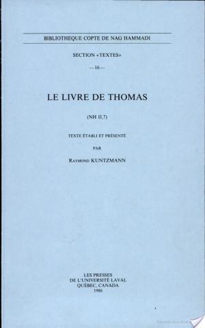 Affiche Le Livre de Thomas, NH II, 7