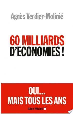Affiche 60 Milliards d'économies !