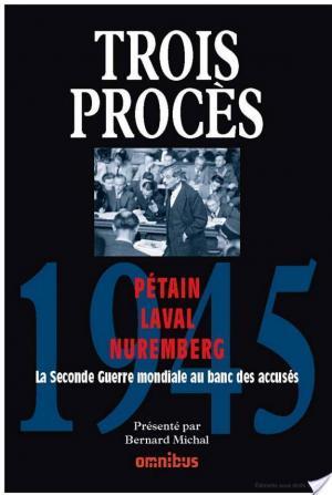 Affiche Trois procès - 1945