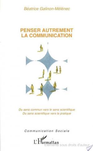 Affiche Penser autrement la communication
