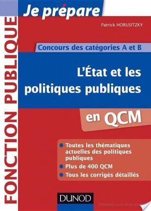 Affiche L'Etat et les politiques publiques en QCM