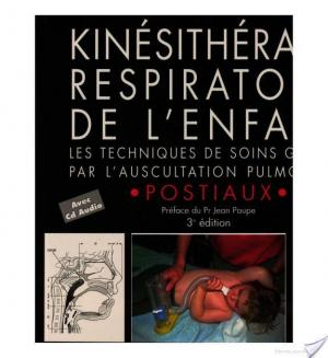 Affiche Kinésithérapie respiratoire de l'enfant