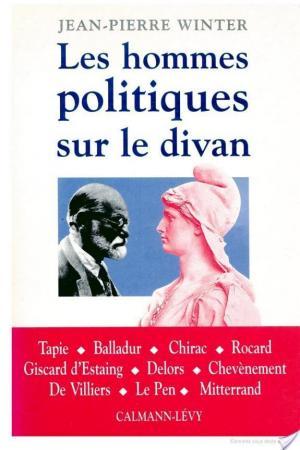 Affiche Les Hommes politiques sur le divan