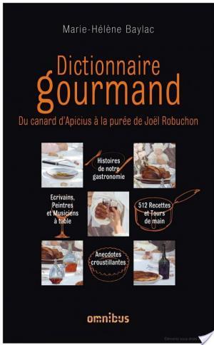 Affiche Dictionnaire gourmand