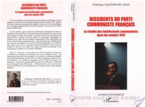 Affiche Dissidents du Parti Communiste Français