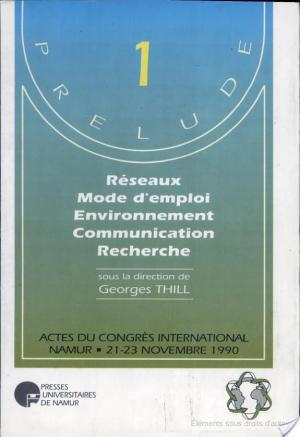 Affiche Reseaux mode d'emploi environnement communication recherche