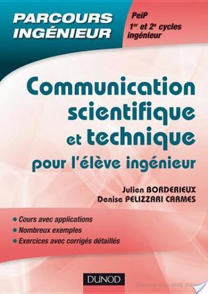 Affiche Communication scientifique et technique - pour l'élève ingénieur