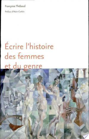 Affiche Écrire l'histoire des femmes et du genre