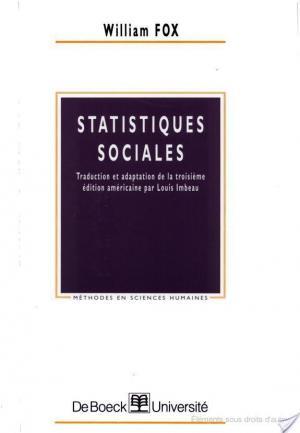 Affiche Statistiques sociales