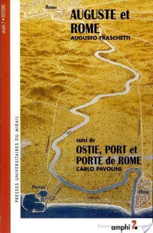 Affiche Auguste et Rome