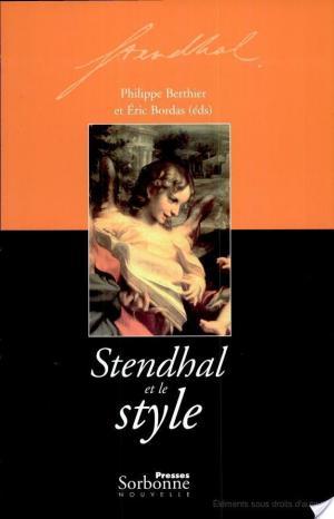 Affiche Stendhal et le style