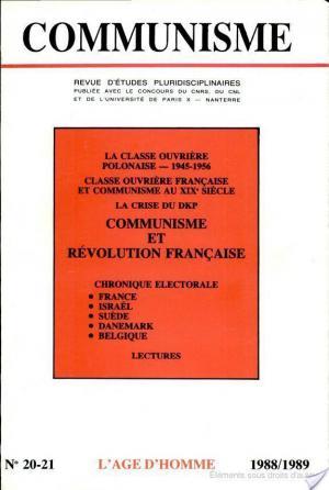 Affiche Communisme - Révolution Française
