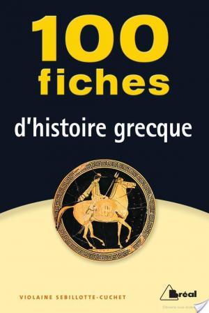 Affiche 100 fiches d'histoire grecque
