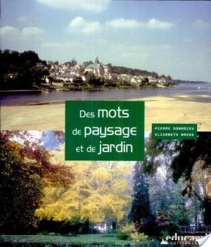 Affiche Des mots de paysage et de jardin