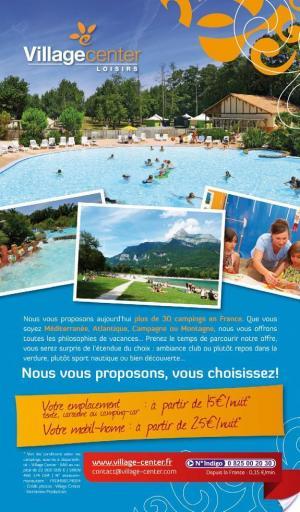 Affiche Guide des campings 2012 (avec avis des lecteurs)