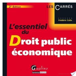 Affiche L'essentiel du droit public économique