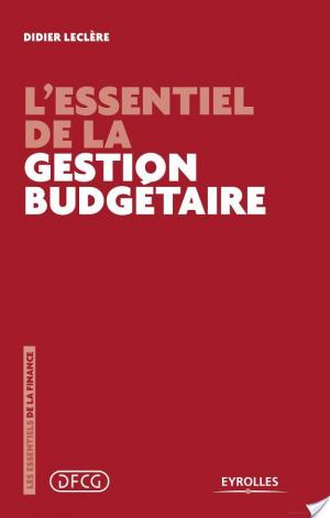Affiche L'essentiel de la gestion budgétaire