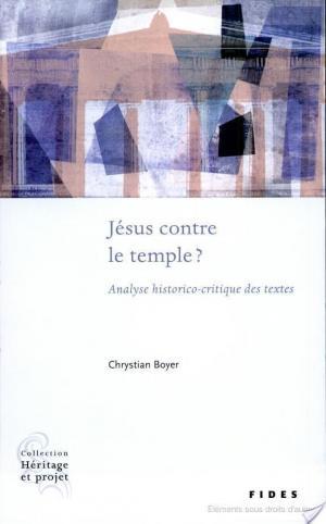 Affiche Jésus contre le temple?