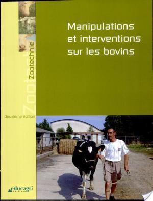 Affiche Manipulations et interventions sur les bovins