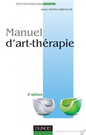 Affiche Manuel d'art-thérapie - 3e éd.