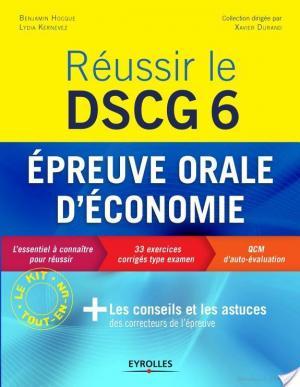 Affiche Réussir le DSCG 6