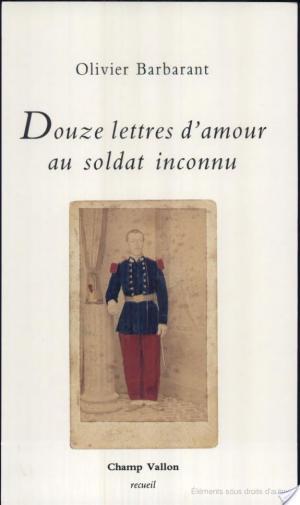 Affiche Douze lettres d'amour au soldat inconnu